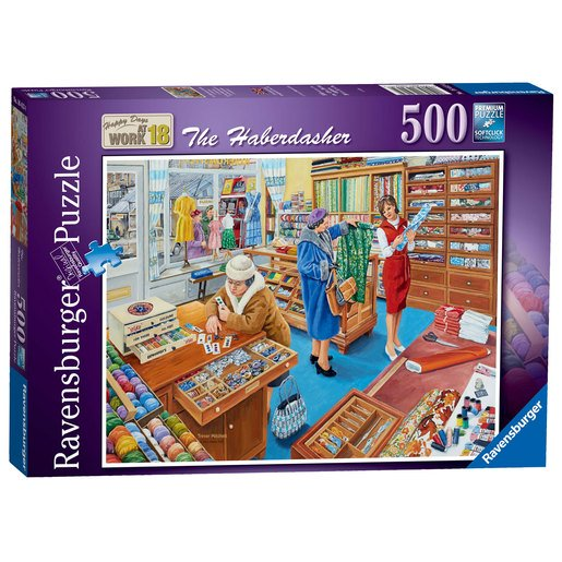 Picture of Ravensburger Happy Days at Work The Haberdasher Puzzle - 500pc
