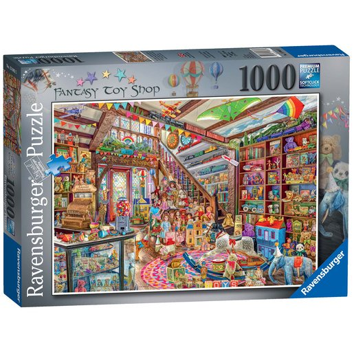 Picture of Ravensburger The Fantasy Toy Shop Puzzle - 1000pc
