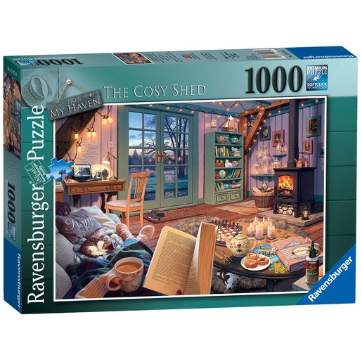 Picture of Ravensburger No.6 My Haven The Cosy Shed Puzzle - 1000pc