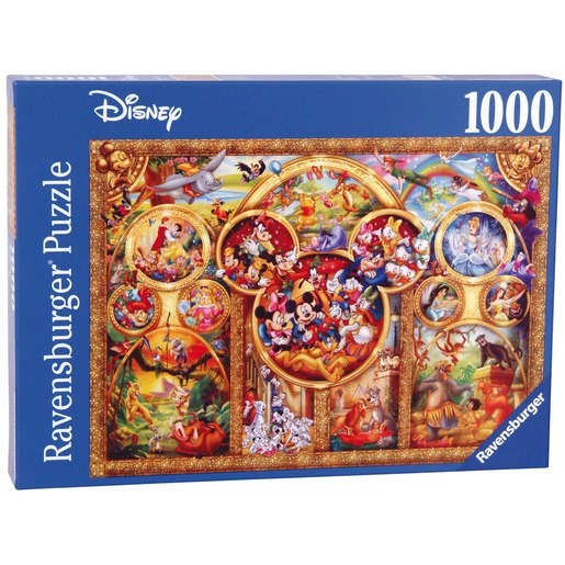 Picture of Ravensburger The Best Disney Themes Puzzle - 1000pc