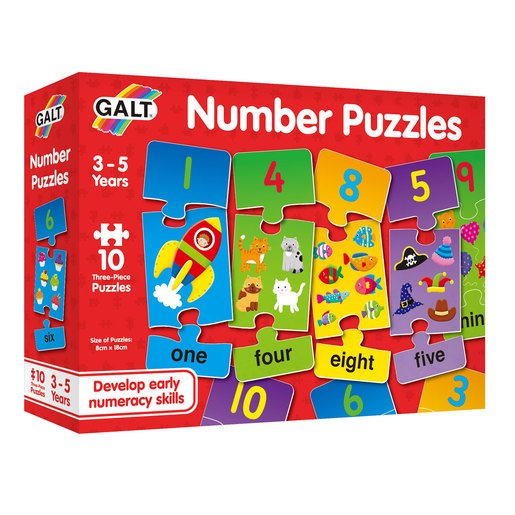 Picture of Galt Number Puzzles