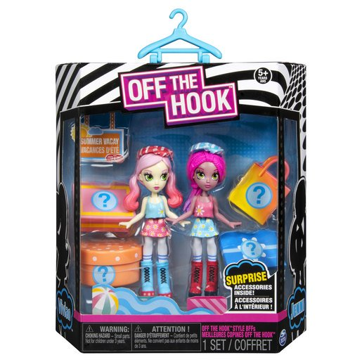 Picture of Off The Hook Style 10cm Dolls - Jenni and Vivian