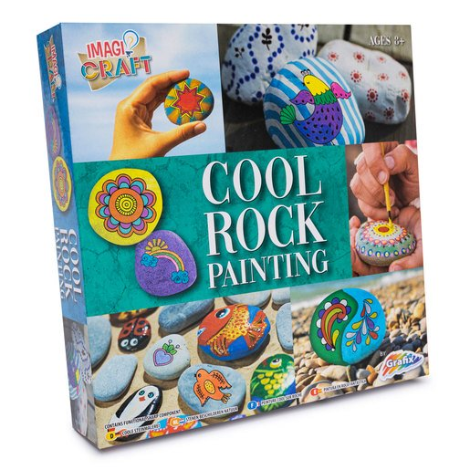 Picture of Rock Painting Kit - Cool