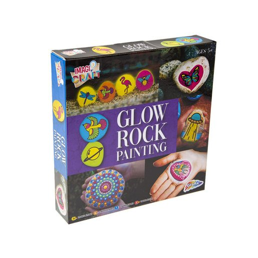 Picture of Rock Painting Kit - Glow