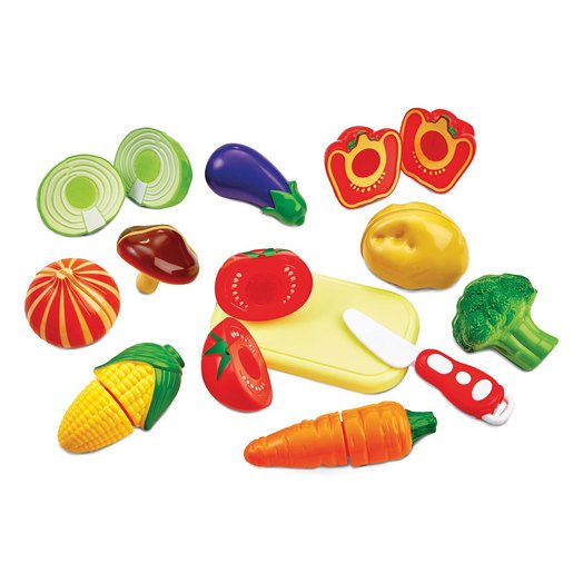 Picture of Busy Me Slice and Play Velcro Vegetable Set
