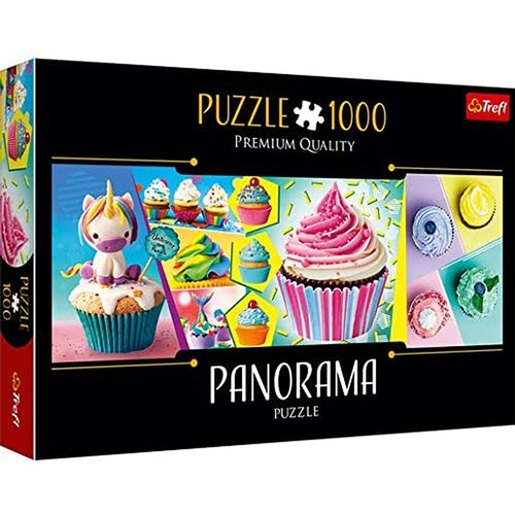 Picture of Trefl Panorama Cupcakes Puzzle - 1000pcs.