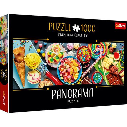 Picture of Trefl Panorama Sweets Puzzle - 1000pcs.