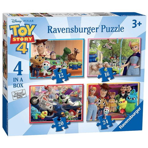 Picture of Ravensburger 4 in a Box Puzzles - Disney Pixar Toy Story 4