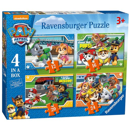 Picture of Ravensburger 4-in-1 Box Jigsaw Puzzle - Paw Patrol