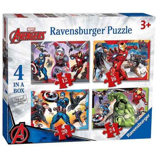 Picture of Ravensburger 4 in a Box Puzzles - Marvel Avengers
