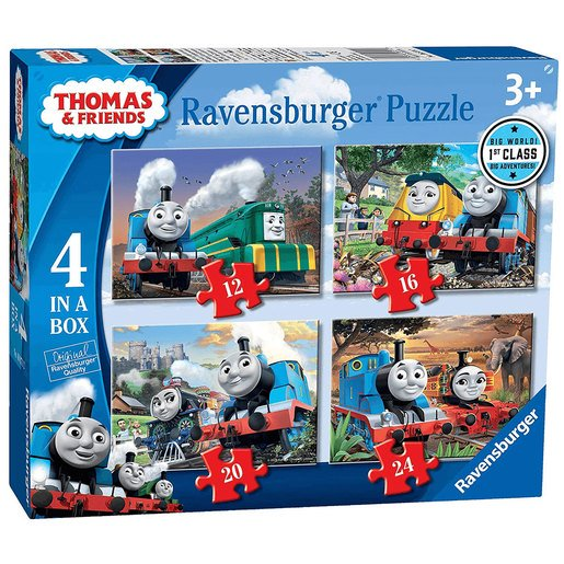 Picture of Ravensburger 4 in a Box Puzzles - Thomas and Friends