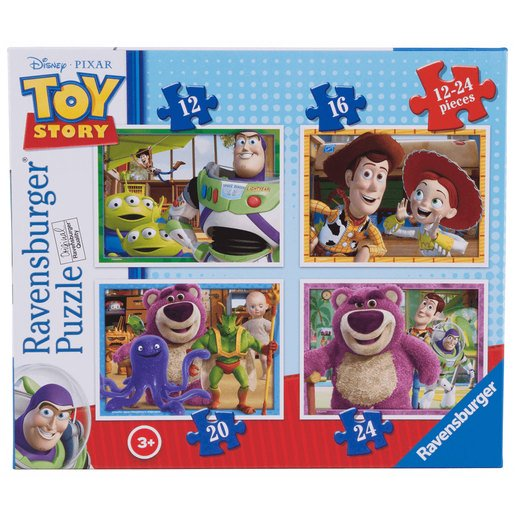 Picture of Ravensburger 4 in a Box Puzzles - Toy Story