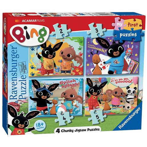 Picture of Ravensburger 4 in a Box Puzzles - Bing Bunny