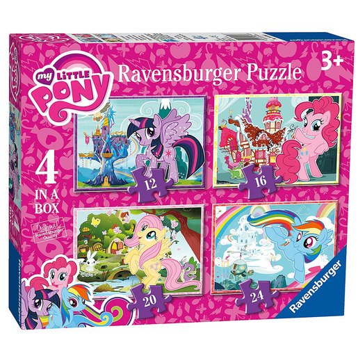 Picture of Ravensburger 4 in a Box Puzzles - My Little Pony