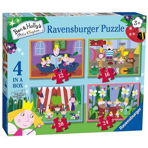 Picture of Ravensburger 4 in a Box Puzzles - Ben & Holly