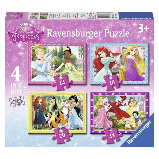 Picture of Ravensburger Disney Princess 4 In a Box Puzzles
