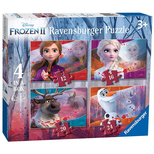 Picture of Ravensburger Disney Frozen 4 in a Box Puzzle