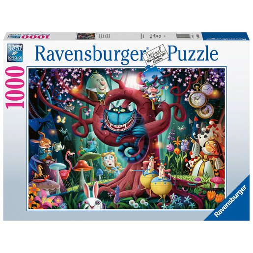 Picture of Ravensburger Almost Everyone is Mad - Alice in Wonderland Puzzle - 1000pcs.