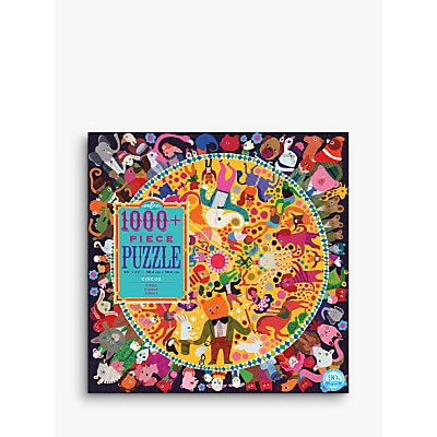 Picture of eeBoo Square Circus Jigsaw Puzzle, 1000 Pieces
