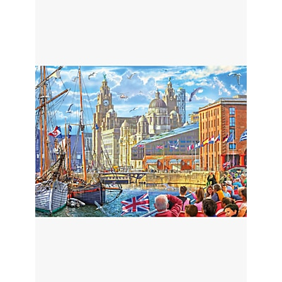 Picture of Gibsons Albert Dock Jigsaw Puzzle, 1000 Pieces