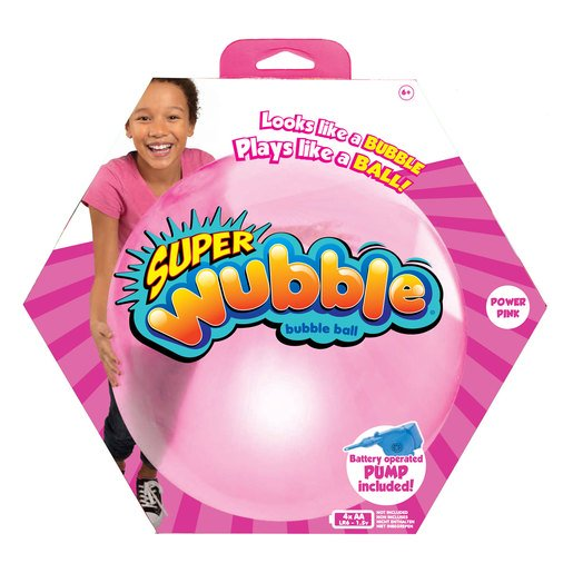 Picture of Wubble Bubble Ball with Pump - Pink