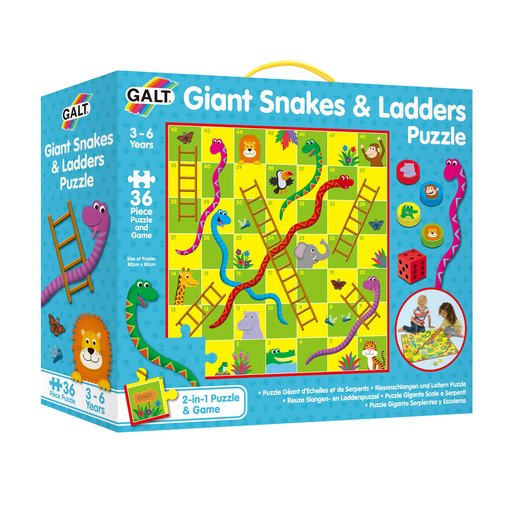 Picture of Galt Giant Snakes and Ladders Puzzle