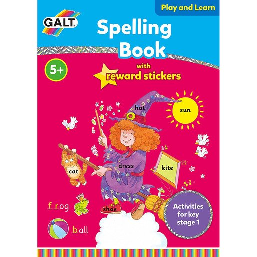 Picture of Galt Spelling Book with Reward Stickers