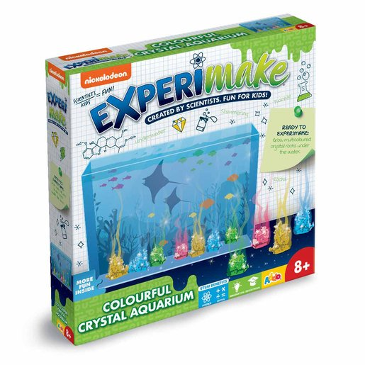 Picture of Nickelodeon Experimake Colourful Crystal Aquarium