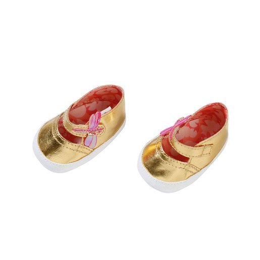 Picture of Baby Annabell Shoes For 43cm Doll - Gold