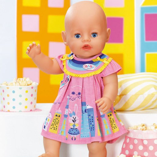 Picture of BABY Born 43cm Doll Dress - Pink