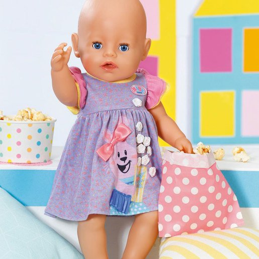 Picture of BABY Born 43cm Doll Dress - Purple