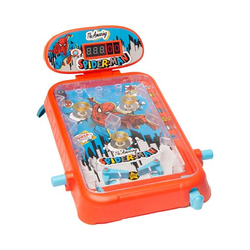 Picture of Marvel Spider-Man Electronic Super Pinball Game