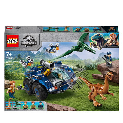 Picture of LEGO Jurassic World Pteranodon Dinosaur Breakout - 75940