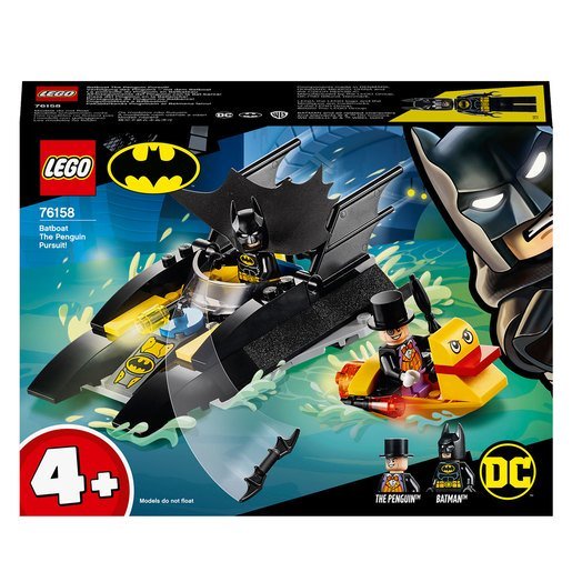 Picture of LEGO DC Batman Batboat The Penguin Pursuit - 76158