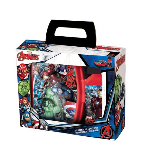 Picture of Marvel Avengers Lunch Box And Water Bottle