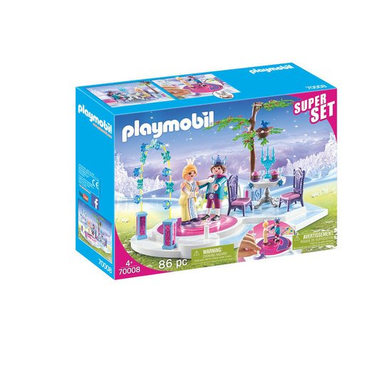 Picture of Playmobil 70008 Super Set Princess Royal Ball with Rotating Dance Floor