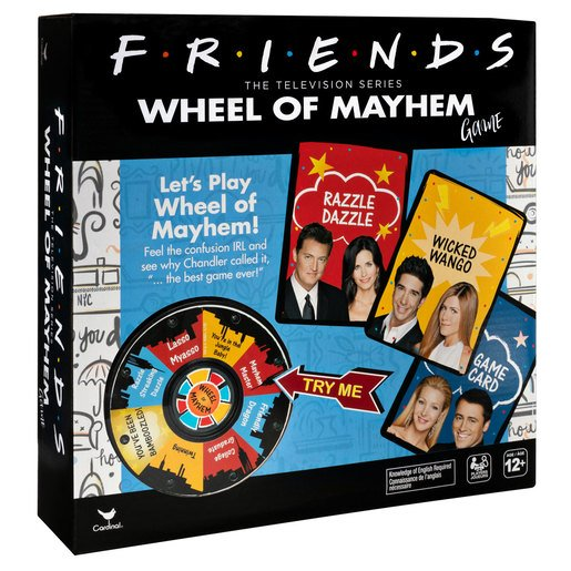 Picture of Friends Wheel Of Mayhem Game