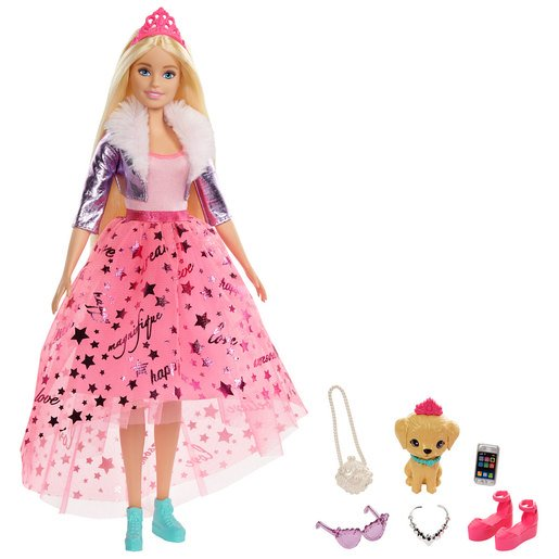 Picture of Barbie Princess Adventure Doll - Blonde Hair