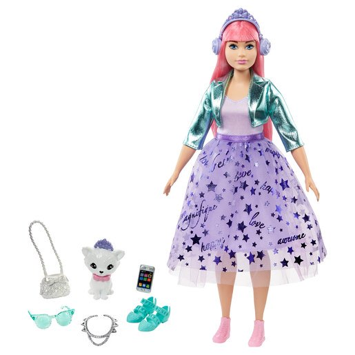 Picture of Barbie Princess Adventure Doll - Brown Hair