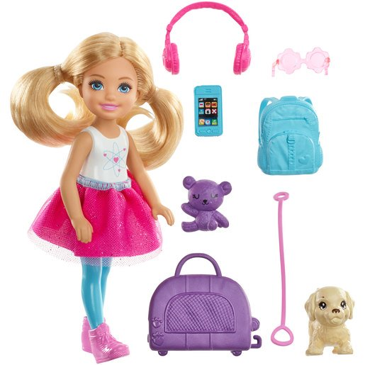 Picture of Barbie Chelsea Travel Playset