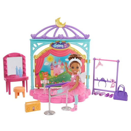 Picture of Barbie Chelsea Club Ballet Playset