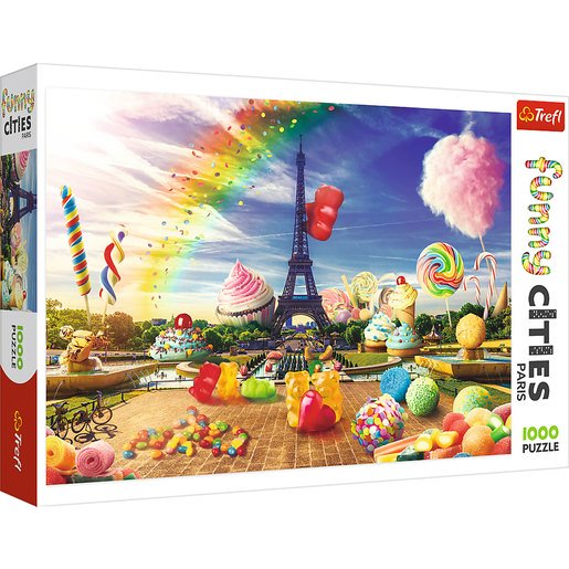Picture of Trefl Funny Cities Sweets In Paris Puzzle - 1000pcs.
