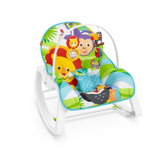 Picture of Fisher-Price Infant-To-Toddle Rocker Chair - Safari