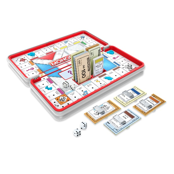 Picture of Hasbro Gaming Road Trip Series Monopoly Game
