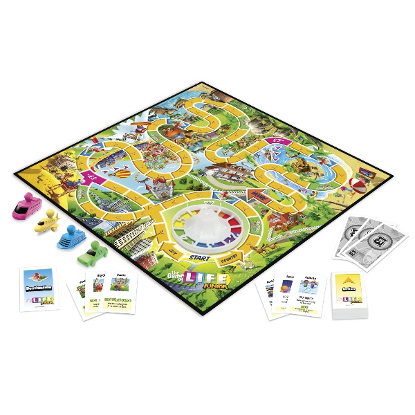 Picture of The Game of Life Junior Board Game