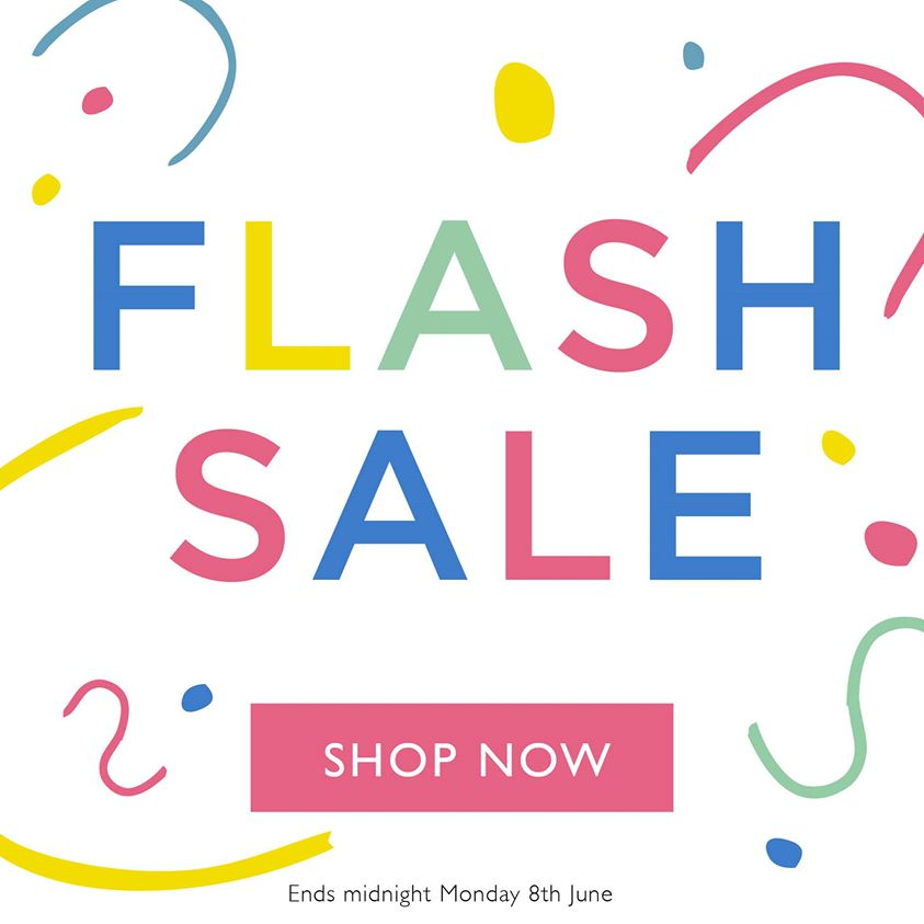 Great Little Trading Company flash sale, up to 30% off, offer ends 8th June 2020.