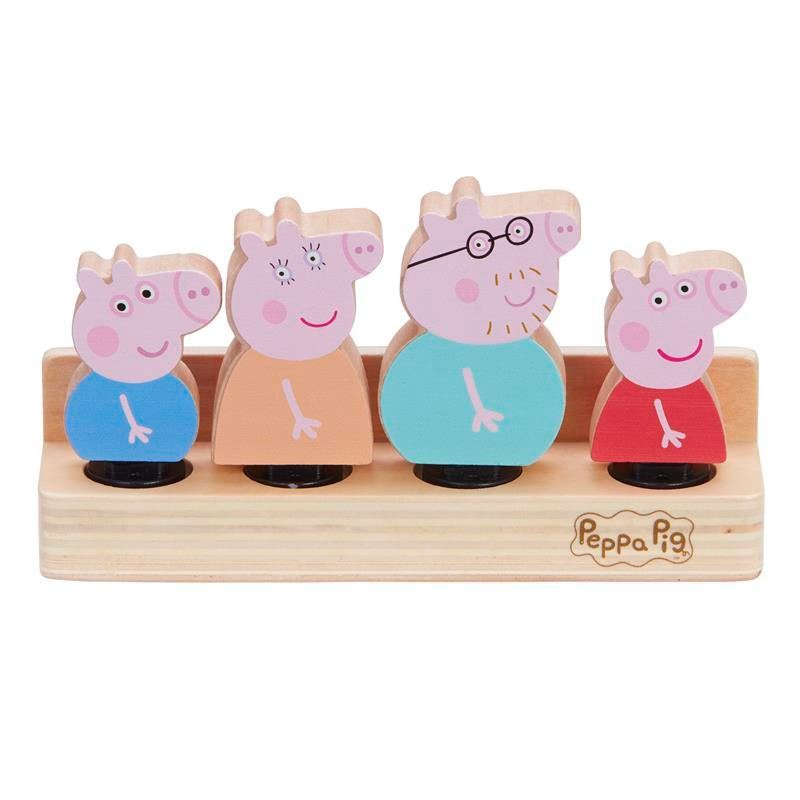 Picture of Peppa Pig Wooden Family Figures