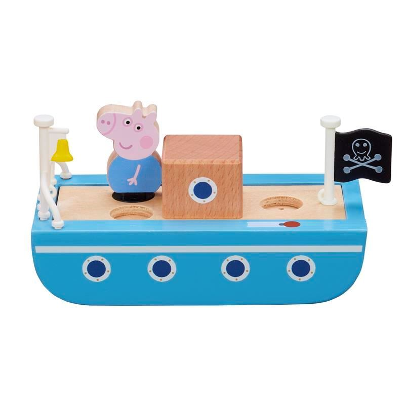 Picture of Peppa Pig Wooden Boat