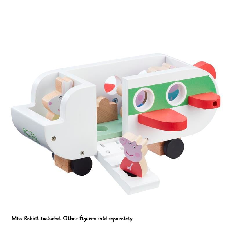 Picture of Peppa Pig Wooden Aeroplane