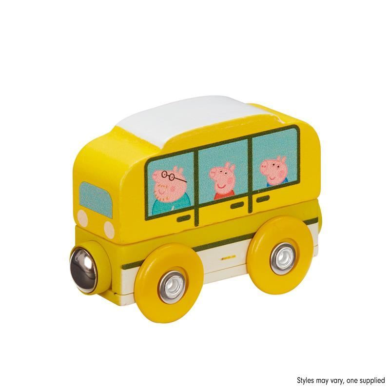 Picture of Peppa Pig Wooden Mini Vehicles - Bus